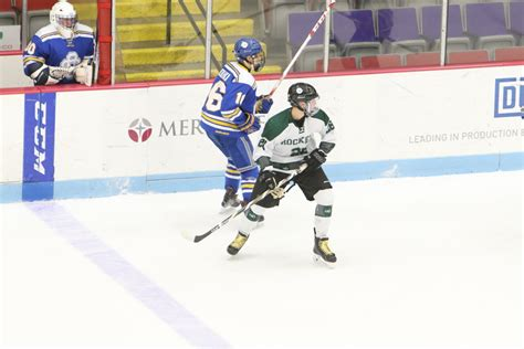 Puffer Hocker by Reeths Puffer Hockey Team Falls To Grand Rapids Catholic 6