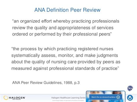 peer reviewed nursing and health care journal nursing impact factor the many faces of peer review part 2 the manager s role