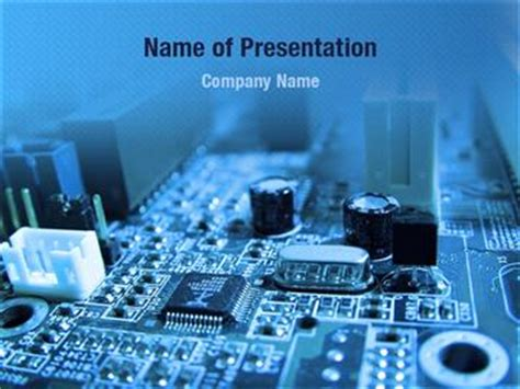 templates powerpoint electronics mainboard powerpoint templates mainboard powerpoint