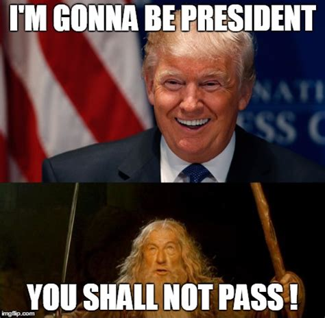 You Shall Not Pass Meme - no you re not tee hee hee imgflip