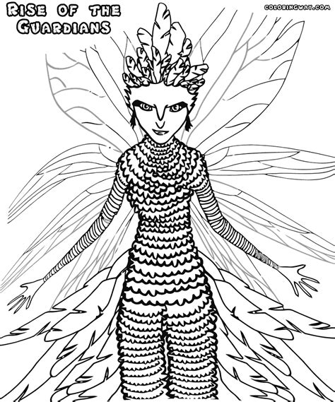 Rise Of The Guardians Coloring Pages Coloring Pages To Guardian Coloring Page