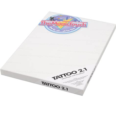 tattoo papier voor printer transferpapier themagictouch
