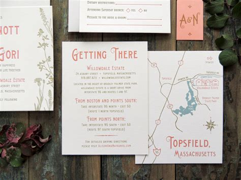 nouveau garden wedding invitations us31