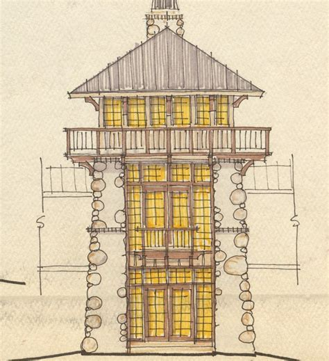 fire tower plans southern draw design build knoxville architects custom