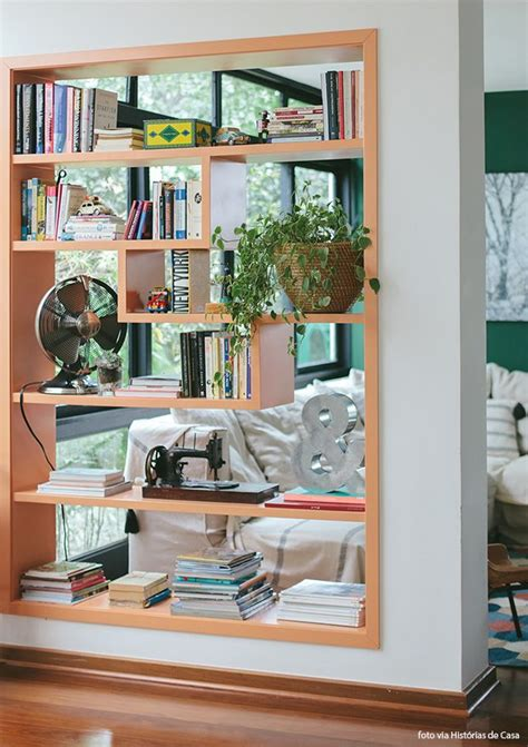 see through bookcase decor spaces and