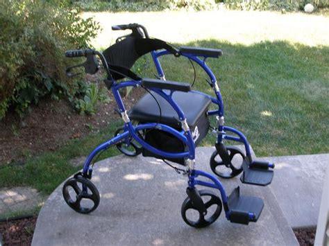 hugo walker transport chair hugo navigator combination 2 in 1 rollator and transport