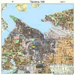 tacoma california map seattle area map