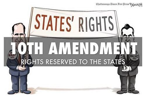 the tenth amendment deals with and peoples rights