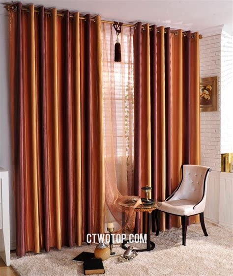 burnt orange window curtains interior archives leisure and me