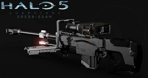 cool cad drawings halo 5 sniper rifle 3d model 3d printable stl cgtrader com