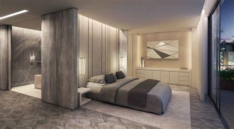 illuminazione da letto moderna stanza da letto moderna con parete di design speciale
