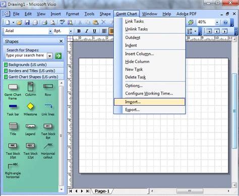 ms project visio week 5 microsoft project visio
