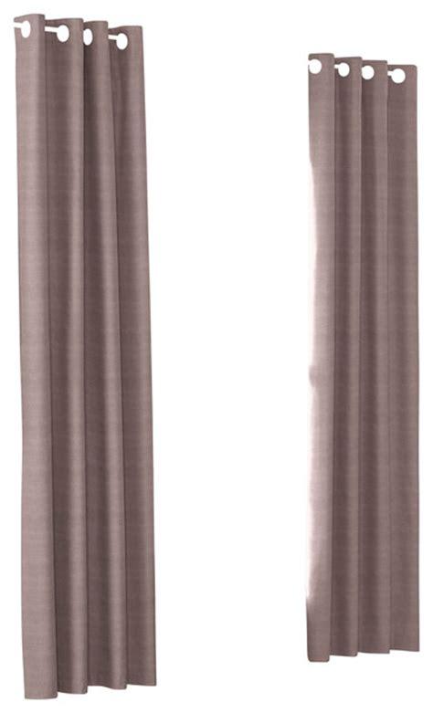 mauve drapes mauve structured linen custom grommet drapery single panel