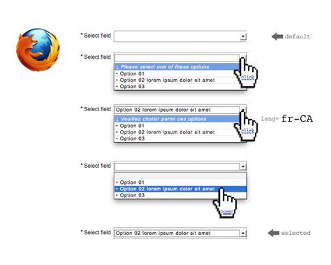 html select option height css