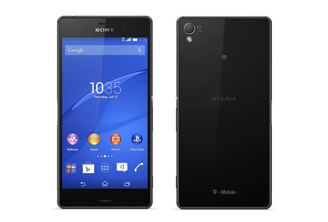 sony xperia z3 mobile sony xperia z3 arrives at t mobile on october 29 droid