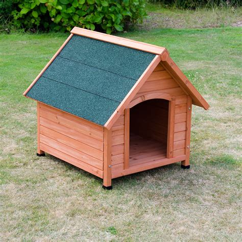 dog house oxford medium oxford dog kennel wooden large pet house apex roof outdoor shelter wood ebay