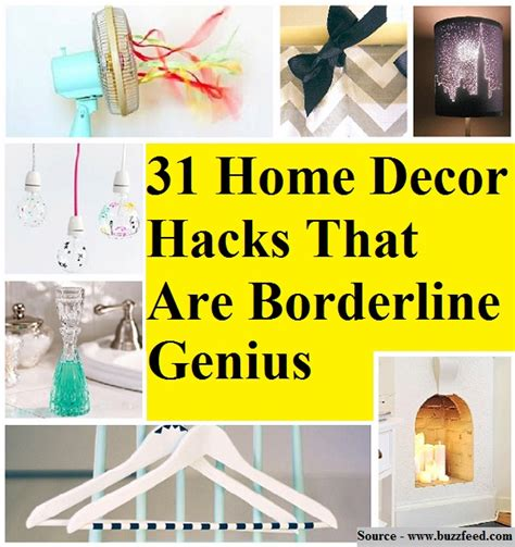 31 home decor hacks that are borderline genius home and