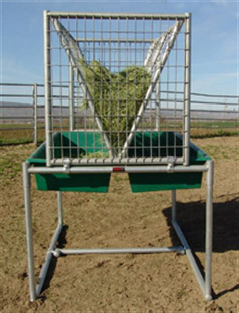 Hay Racks For Horses In Pasture by Pasture Feeder Noble Panels
