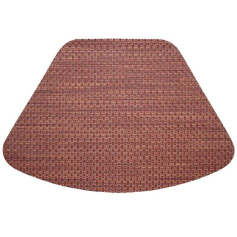 wedge placemats for round table deal finder wipeable placemat redwood