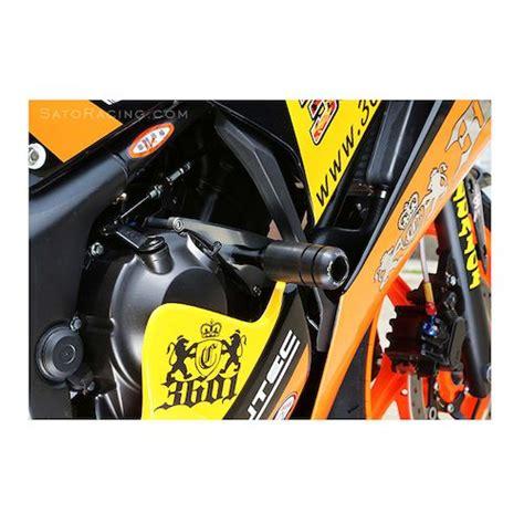 Frame Slider Bikers Gold 250 Fi 2016 sato racing frame sliders honda cbr300r 2015 2017 revzilla