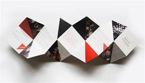 Cool Paper Folds - 30 awesome brochure design ideas 2014 web graphic