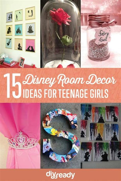 top 15 diy craft and home decorating projects of 2015 15 enchanted diy teen girl room ideas for disney fans
