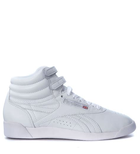 reebok freestyle sneaker reebok reebok freestyle hi og white leather sneaker