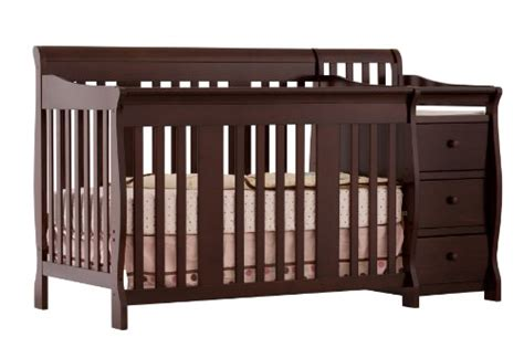 Where Can I Buy A Baby Crib by Stork Craft Portofino 4 In 1 Fixed Side Convertible Crib