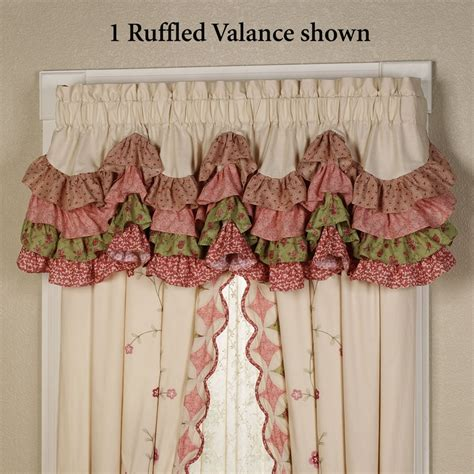 ruffled kitchen curtains 22 best beautiful country ruffled curtains images on ruffled curtains curtains and