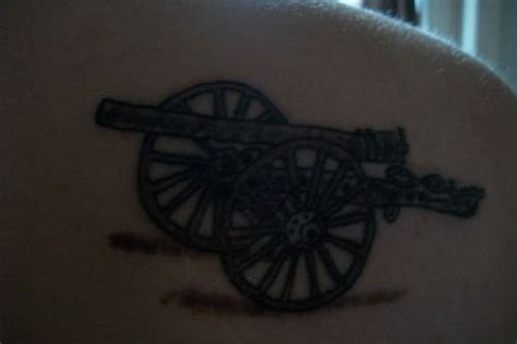cannon tattoo 42 best civil war cannon tattoos images on