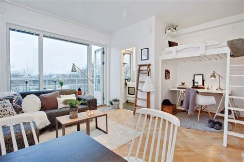 Small Living Room Idea space saving design in a 29 square meter gothenburg studio