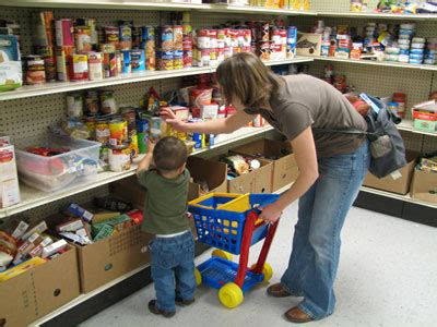 food pantries with management build both measurable