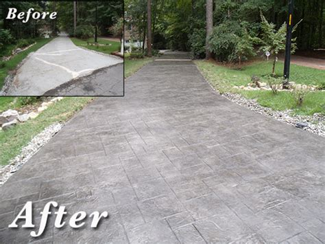 decorative concrete overlays raleigh nc concrete