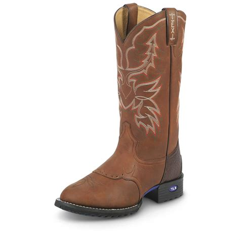 mens boots western tony lama s 13 quot tlx performance work western boots
