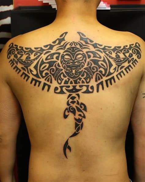 manta ray tattoo 50 cool designs of polynesian tattoos golfian