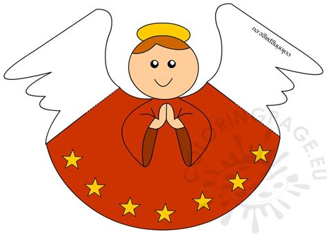 printable paper angel printable paper angel coloring page