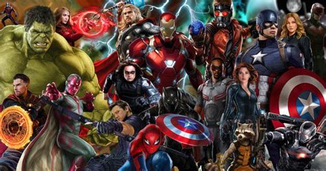 marvel film with all characters mcu now has 7 000 characters giving marvel endless