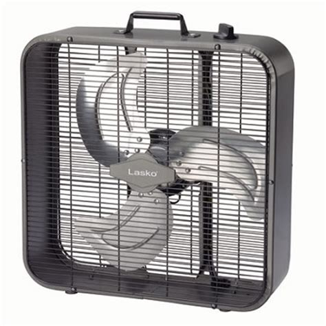Buydig Com Lasko Metal Box Fan 20 Inch Black B20725