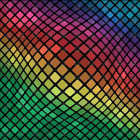 mosaic background mosaic distorted background vector image 39317 rfclipart