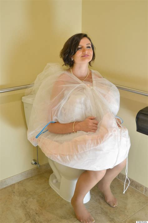 today brides an excuse to put your wedding dress on again bridal buddy is the new invention to help brides use the