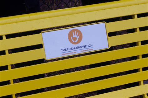 friendship bench welcome to the friendship bench raising awareness around