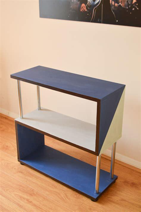 modern rust furniture modern shelf makeover with rust oleum