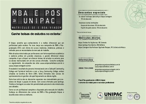 Pos E Mba by Folder P 243 S Gradua 231 227 O E Mba Unipac