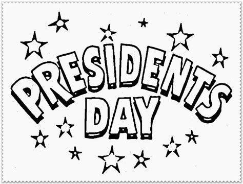 60 Most Beautiful Presidents Day Greeting Pictures Presidents Day Coloring Page
