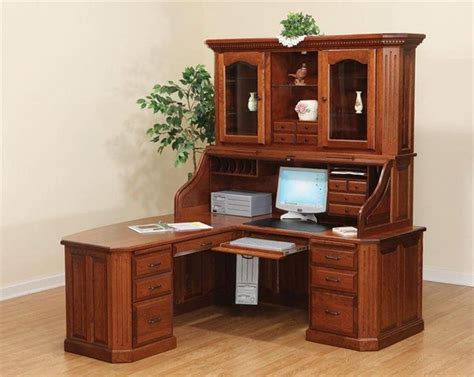 Dark Oak Computer Desk Corner Desk Small Oak Computer Desk Small Oak Computer Desk