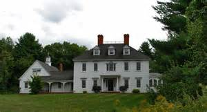 Colonial Farmhouse Plans The Federal Colonial Exterior Trim And Siding The