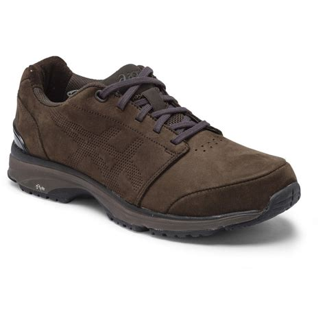 asics gel odyssey suede womens walking shoes brown