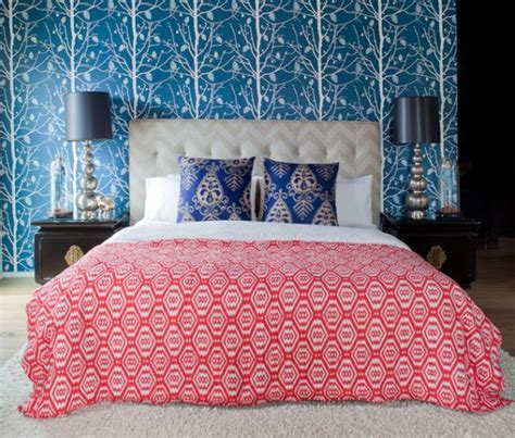 patterned bedroom wallpaper 15 bedroom wallpaper ideas styles patterns and colors