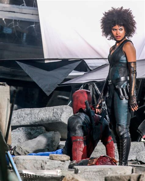 actress died while filming deadpool 2 deadpool actress zazie beetz pays tribute to her stunt