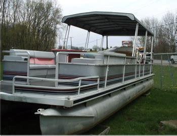 harris pontoon boat bimini top harris flote bote 24 foot trailerable pontoon boat